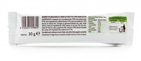 Barretta Biologica di Frutta all'Albicocca