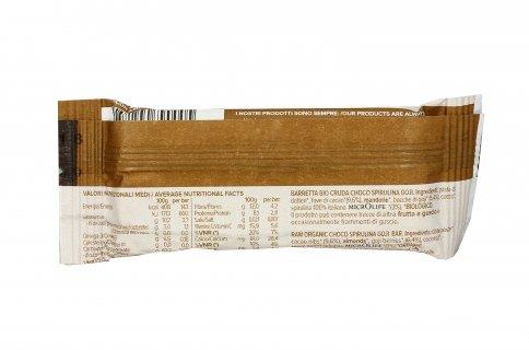 Barretta Bio con Cacao, Spirulina e Goji
