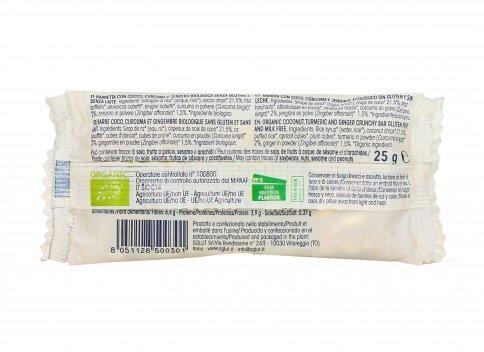 Barretta con Cocco, Curcuma e Zenzero - Senza Glutine