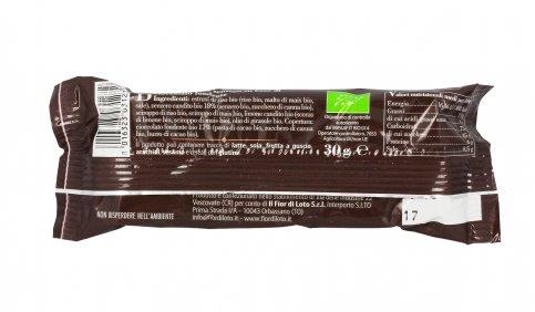 Barretta Zenzero con Cioccolato Fondente Bio