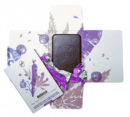 Cioccolata Fondente con Chia e Canapa - Bellezza