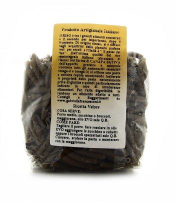 Maccheroncini di Riso Semintegrale e Canapa Sativa Bio