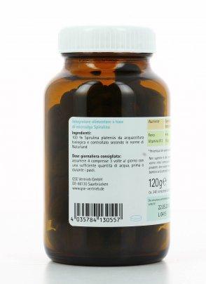 Integratore Naturale - Bio Spirulina in Compresse