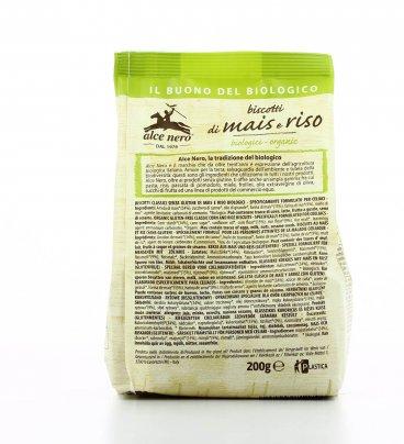 Biscotti di Mais e Riso Biologici - Senza Glutine