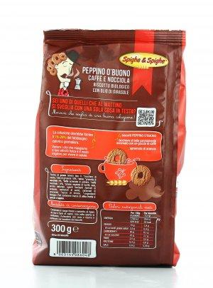 Biscotti al Caffè e Nocciola - Biscotto Peppino O'Buono