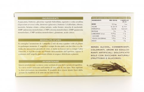 Boro Olimentovis - 30 Ampolle