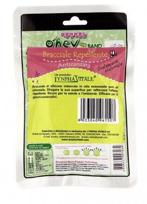 Bracciale Antizanzare con Olio di Citronella - Verde Retro