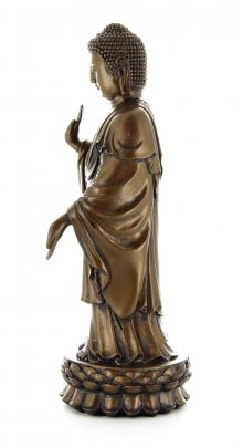 Buddha in Piedi color Bronzo