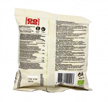 Potato Chips Paprika - Patatine Bio alla Paprika