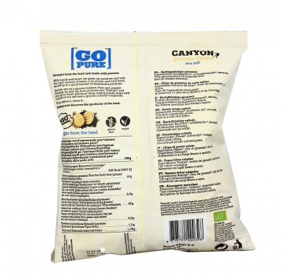 Potato Chips Sea Salt - Patatine Bio Salate