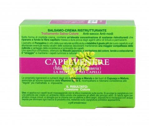 Balsamo Crema Ristrutturante per Capelli - Capelvenere