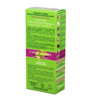 Shampoo Crema Ristrutturante Riacidificante - Capelvenere
