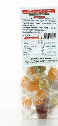 Caramelle Gelees con Stevia