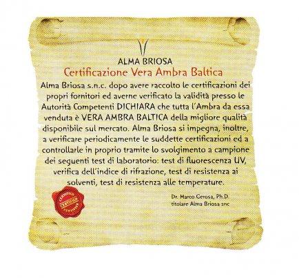 Bracciale Ambra - Mamma Rounded Cognac