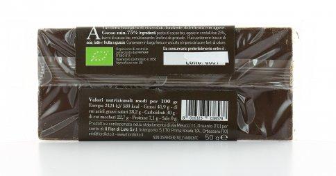 Cioccolato Fondente dolcificato con Agave Bio