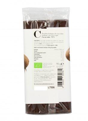 Cioccolato Fondente con Cocco Rapè Bio