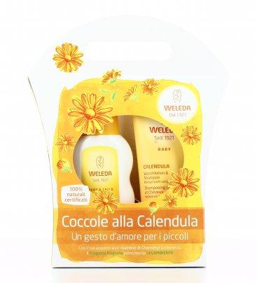 Cofanetto Coccole alla Calendula - Babywash + Crema Fluida