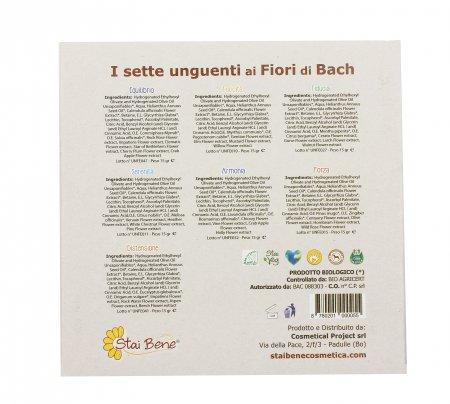 Cofanetto Sette Unguenti ai Fiori di Bach