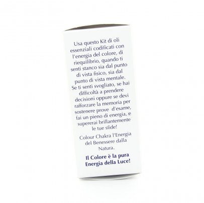 Set Colour Chakra Oil - Kit di Riequilibrio Energetico per i 9 Chakra