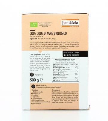 Cous Cous di Mais Bio - Senza Glutine