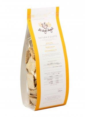 Crackers di Farro e Farro Monococco Integrale con Sesamo Bio