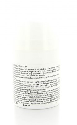 Crema Antirughe all'Acido Glicolico 8%