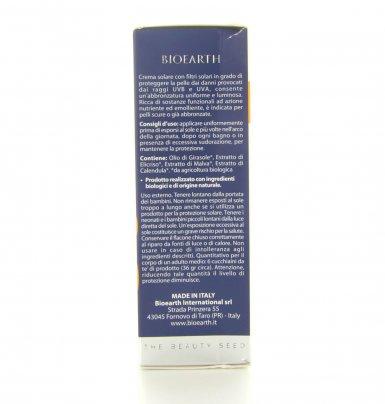Bioearth Sun Naturale - Crema Solare Spf 25