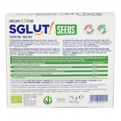 Croccante ai Semi Bio - Senza Glutine