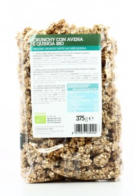 Crunchy con Avena e Quinoa Bio