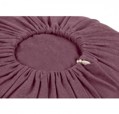 Cuscino Lotus Basso Melanzana