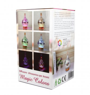 Diffusore Ultrasonico per Aromi Magic Colors