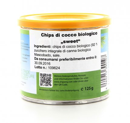 Chips di Cocco Bio