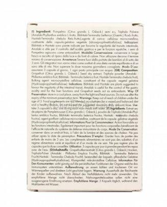 Estratto di Semi di Pompelmo e Triphala