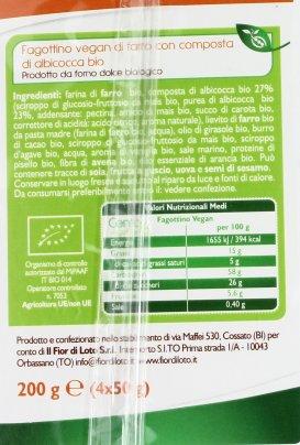 Fagottino Vegan Bio di Farro con Albicocca