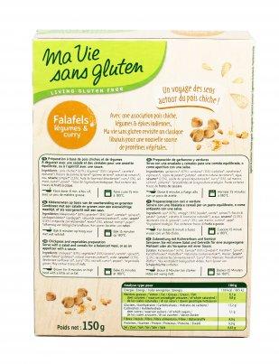 Falafel alle Verdure e Curry - Senza Glutine