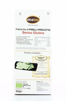 Farina Bio di Piselli Precotta