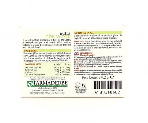 Nutra Thè Verde - 60 Capsule