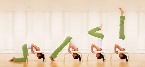Esercizi FeetUp - Sedia Yoga