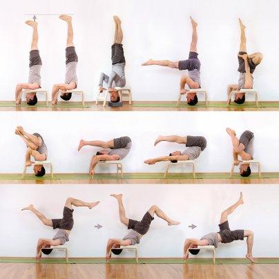 FeetUp - Sedia Yoga Variante Esercizi