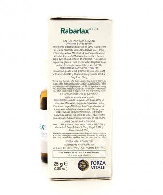 Integratore Alimentare - Rabarlax