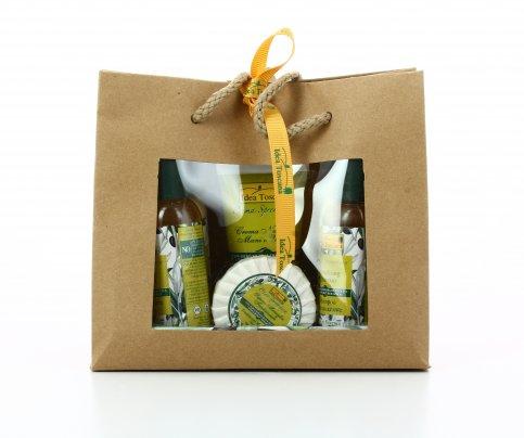 Gift Bag Con Carta Ecologica - 6 Prodotti