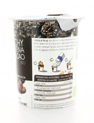 Crunchy con Avena e Cacao Bio