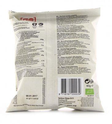 Chips alla Paprika Bio