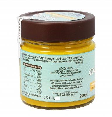 Crema Dolce con Curcuma - Golden Yooga Spread