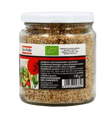 Gomasio Pomodoro e Olive Bio