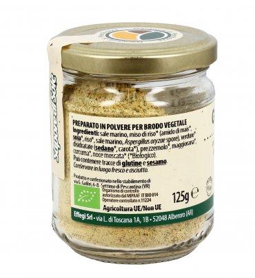 Preparato per Brodo Vegetale Bio - Gusto Più