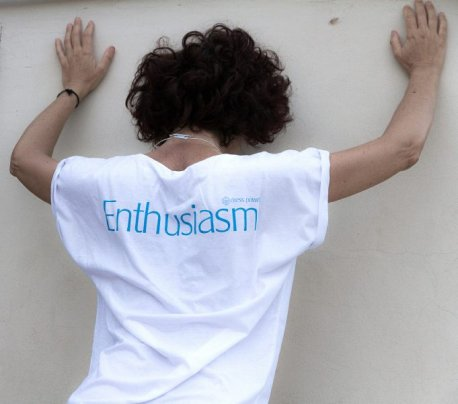 Dress Power T-Shirt - Enthusiasm Uomo