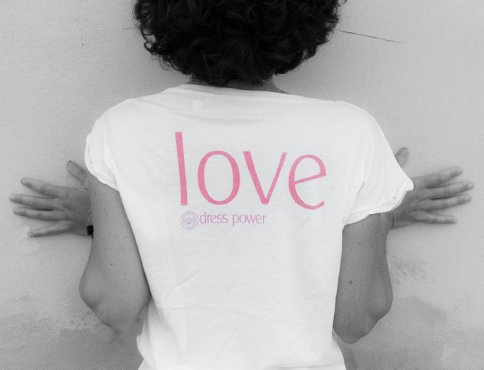 Dress Power T-Shirt - Love Donna - Taglia S - Maniche Lunga