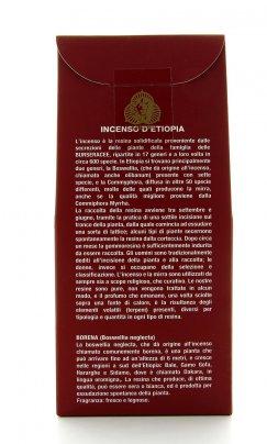 Incenso d'Etiopia in Grani - Borena 250 g.