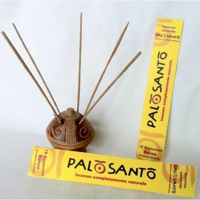 Incenso Naturale di Palo Santo - 10 Bastoncini